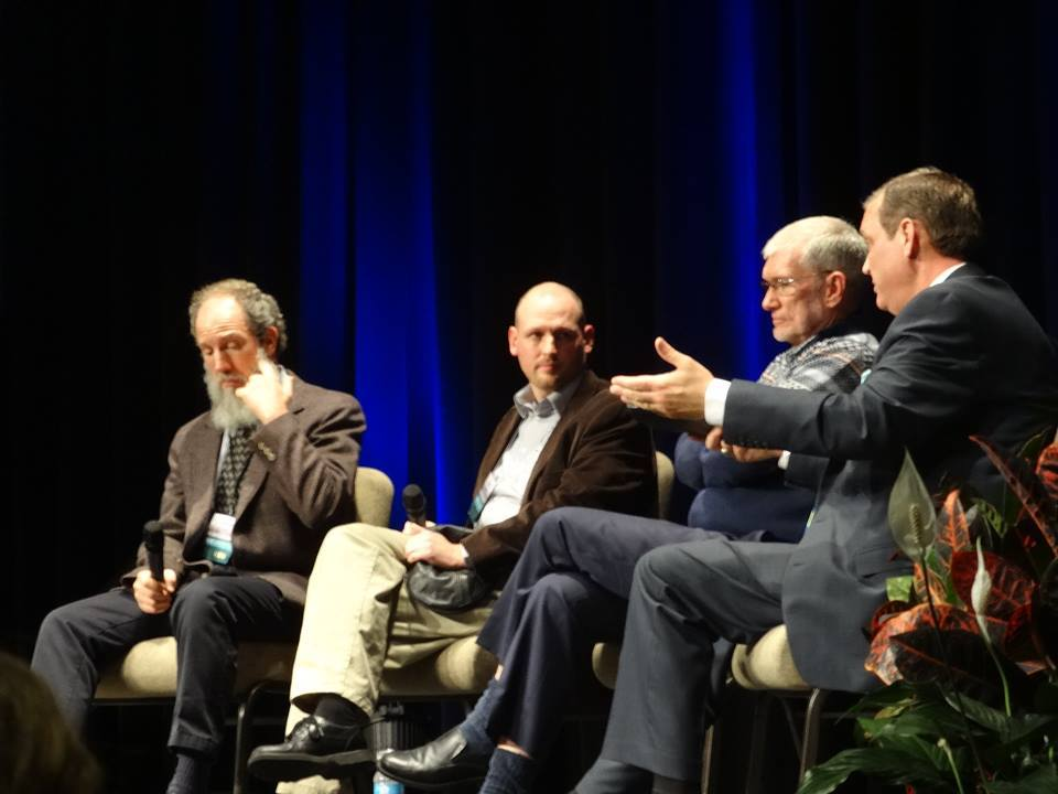Dr. Brian Ray, Ph.D., Israel Wayne, Ken Ham and Dr. Albert Mohler.
